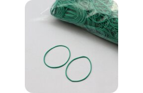 RUBBER BANDS GREEN 50mm